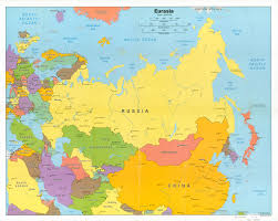 asain map map of central and northern asia 8 maps with world maps