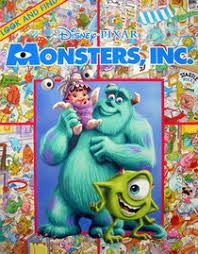 monsters disney pixar paperback 0785358781