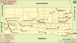 North Dakota natural attractions images Places to visit in south dakota south dakota attractions map jpg