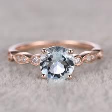 shop aquamarine engagement ring stones on wanelo