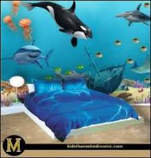 sea turtle themed bedroom for teen deep
