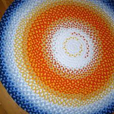 shop round cotton rug on wanelo