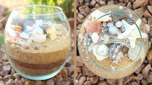 Seashell Centerpieces For Weddings by Seashell Centerpiece Diy Youtube