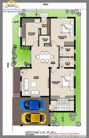 single house plan remarkable architecture kerala 3 bhk single floor house plan and