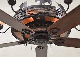 western ceiling fans with lights copper canyon rancher ceiling fan rustic lighting and fans