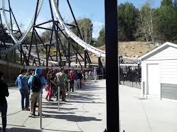Goldrusher Six Flags Magic Mountain Six Flags Magic Mountain Super Bowl Sunday 2014 California