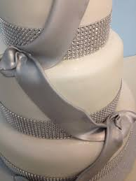wedding cakes with bling silver bling bling wedding cake az cakes by elizabethaz cakes by