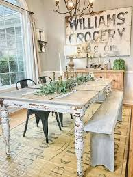 lovely natural wood dining table best 25 farmhouse dining rooms