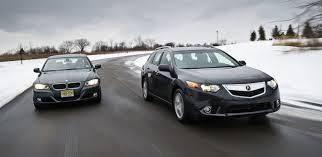 acura vs bmw acura tsx sport wagon vs bmw 328i sports wagon acura connected