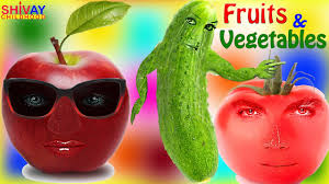 learning fruits and vegetables names for kids baby learning
