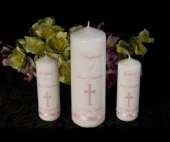 christening candles baptism candles naming and christening gift ideas