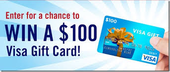 win a gift card enter to win a 100 visa gift card ends 3 15