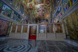parfect solution to light sistine chapel replica live design