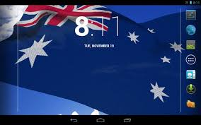 Austrslia Flag 3d Australia Flag Lwp Android Apps On Google Play