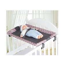 Cot Changing Table Miyaou Universal Baby Cot Top Changer 70x45 Cm
