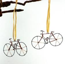 global crafts recycled bicycle tree ornament daiseye