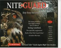 nite guard solar predator control light 4 pack nite guard solar predator control ng 1 for farms bird houses
