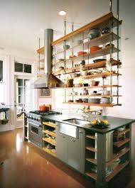 kitchen island with open shelves open shelving kitchen ideas shelves design images