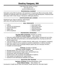 professional resumes sle sle resume resume sle for nicu nurses patient professional