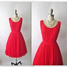red holiday dress is perfect for your kids