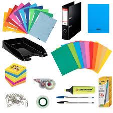 fourniture de bureau pack fournitures office kits papeterie générique sur ldlc com