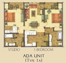 ada floor plans ada unit floor plan for morning star lodge condominium ada house