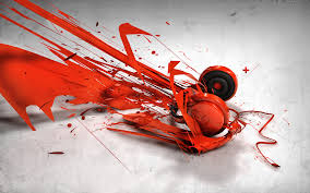 abstract music headphones wallpapers hd wallpapers