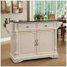 kitchen islands big lots curved door kitchen cart with granite insert at big lots