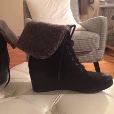 ugg zea sale 67 ugg shoes sale ugg zea wool lined wedge laceup boots