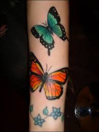 butterfly tattoos on arm for tattooshunt com