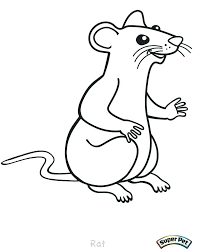 coloring page of a rat rat coloring page lab rats coloring pages rat coloring pages large