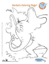 dr seuss u0027 horton hears activities coloring pages u0026 games