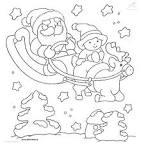 ภาพระบายสีซานต้าครอสลายเส้น santa christma coloring: สนับสนุนคนไทย ...