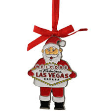 las vegas santa metal ornament shop las vegas gifts