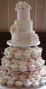 wedding cake and cupcakes wedding cake cupcake ideas bridal wedding cake