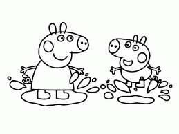 enjoyable peppa pig coloring pages peppa pig coloring pages image