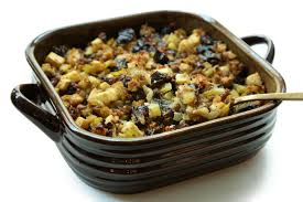 bread dressing recipes for thanksgiving prune and apple stuffing with sausage recipe chowhound