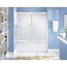 Sterling 5900 Shower Door Sterling Deluxe Framed Tub Door 5906 59s Do It Best