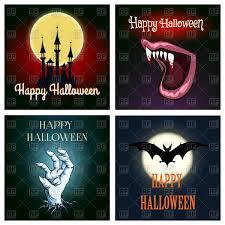 Vampire Teeth Happy Halloween Card Flying Bat Deadman U0027s Hand Vampire Teeth
