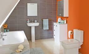 fresh bathroom ideas fresh and cool orange bathroom ideas