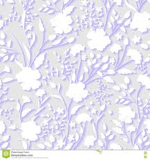 vector floral 3d seamless pattern background for wedding and