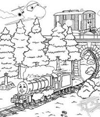 train thomas the tank engine and friends coloring page trains