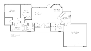 cottage floorplans cottage sle floor plans meadowlark continuing care
