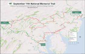 Ohio Canal Map by Trail Maps September 11th National Memorial Trail