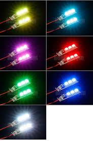 mini led light multi color 12v mini connector