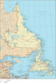 Canada Map Coloured by 25 Best Newfoundland Map Ideas On Pinterest Newfoundland