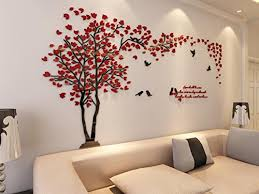 living room trees amazon com 3d couple tree wall murals for living room bedroom