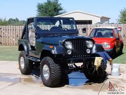 jeep 1980 cj5 jeep cj 5 frame off restoration 304 v8 charcoal metallic grey
