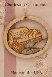 personalized handmade jeep wrangler ornament jeep