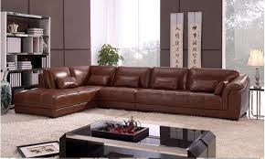 Living Room L Sets Free Shipping Living Room Sectional Leather Corner Sofa Classic L